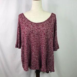 Aeropostale Sweater Top OversizeLightweight Size L